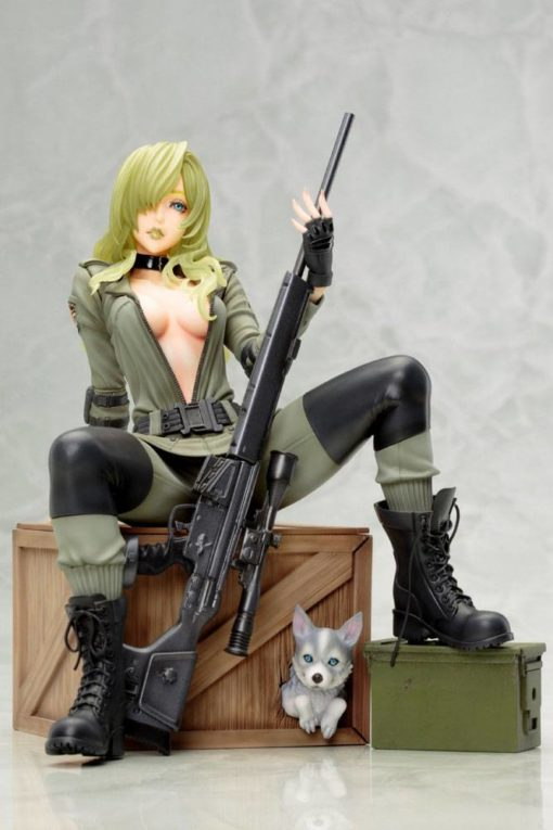 Metal Gear Solid Bishoujo PVC Statue 1/7 Sniper Wolf 19 cm
