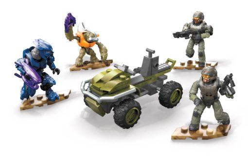 Halo Infinite Mega Construx Pro Builders Construction Set Recon Getaway