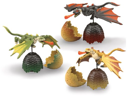 Game of Thrones Mega Construx Black Series Construction Sets Dragon Eggs Display (6)