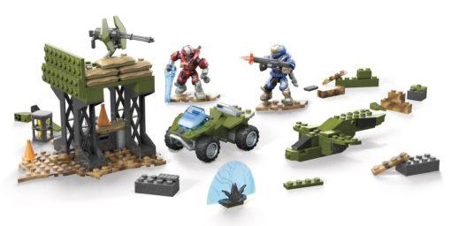 Halo Infinite Mega Construx Pro Builders Construction Set Building Box