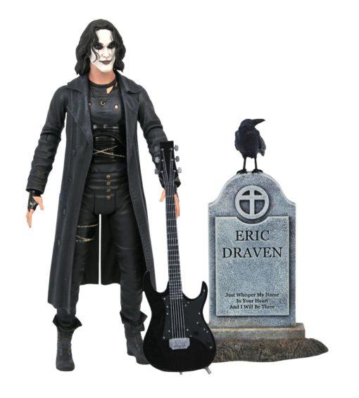 The Crow Deluxe Action Figure Eric Draven 18 cm