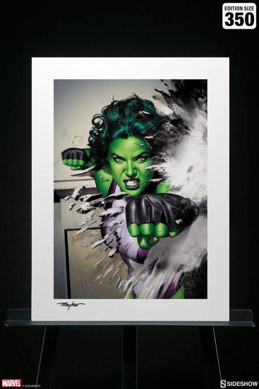 Marvel Art Print She-Hulk 46 x 61 cm – unframed