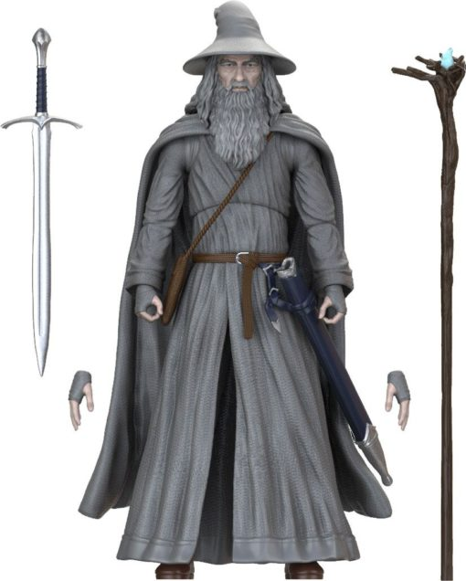 Lord of the Rings BST AXN Action Figure Gandalf 13 cm