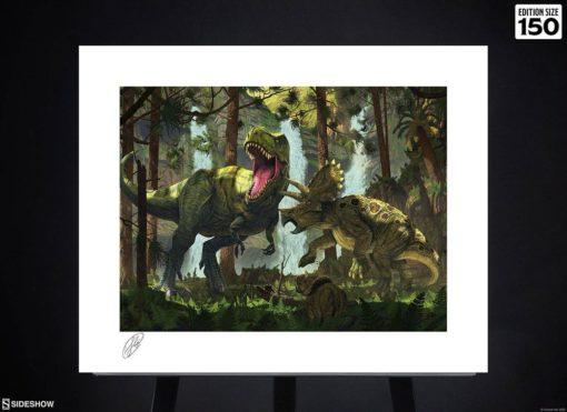 Original Artist Series Art Print Protection by Vincent Hie 41 x 51 cm – unframed