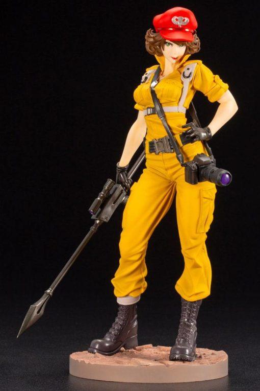 G.I. Joe Bishoujo PVC Statue 1/7 Lady Jaye Canary Ann Color Version 23 cm