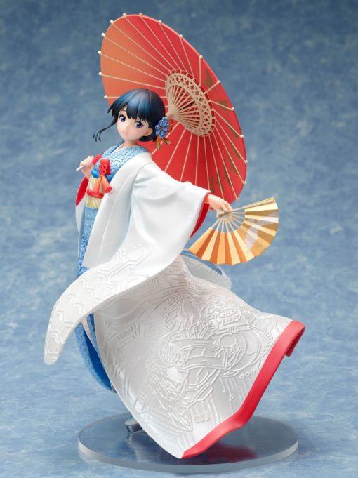SSSS.Gridman PVC Statue 1/7 Rikka Takarada – Shiromuku 22 cm