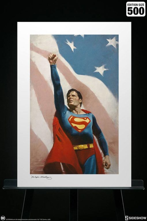 DC Comics Art Print Someone To Believe In 46 x 61 cm – unframed