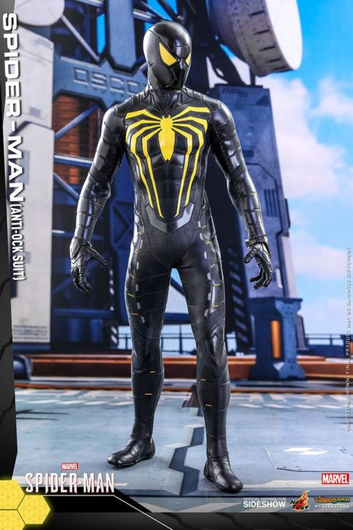 Marvel's Spider-Man Video Game Masterpiece Action Figure 1/6 Spider-Man (Anti-Ock Suit) 30 cm