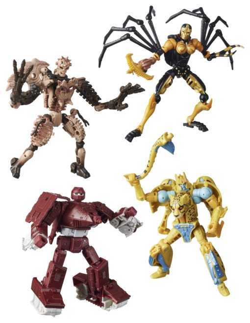Transformers Generations War for Cybertron: Kingdom Action Figures Deluxe 2021 W1 Assortment (8)