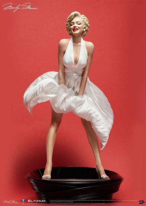 Marilyn Monroe Superb Scale Hybrid Statue 1/4 Marilyn Monroe 46 cm
