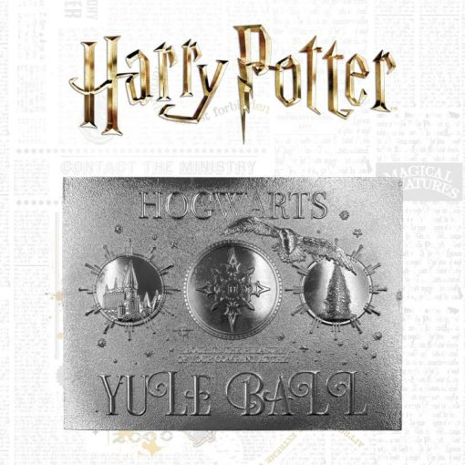 Harry Potter Replica Yule Ball Ticket Limited Edition (silver plated)