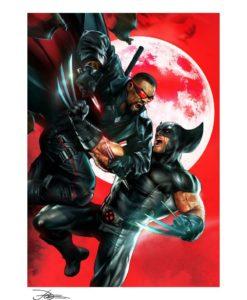 Marvel Art Print Wolverine vs Blade 46 x 61 cm - unframed