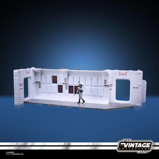 Star Wars Episode V Vintage Collection Tantive IV Hallway with Rebel Fleet Trooper Figure 10 cm