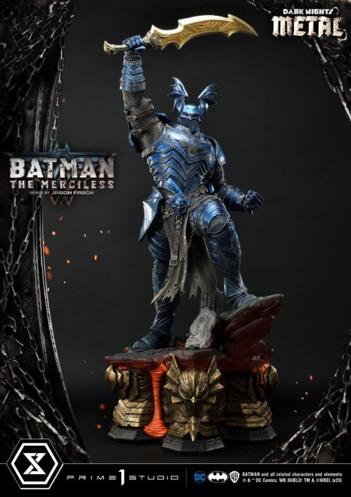 Dark Nights: Metal Statue The Merciless 112 cm