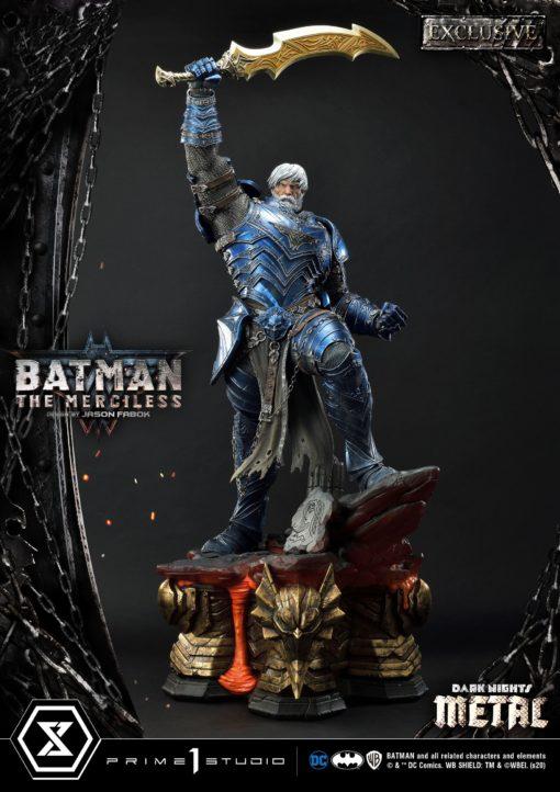 Dark Nights: Metal Statues 1/3 The Merciless & The Merciless Exclusive 112 cm Assortment (3)