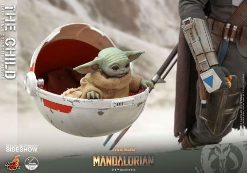 Star Wars The Mandalorian Action Figure 1/4 The Child 9 cm