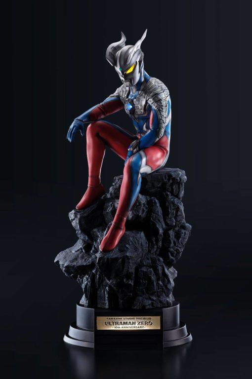 Ultraman Tamashii Studio Premium PVC Statue Ultraman Zero -10th Anniversary- 62 cm