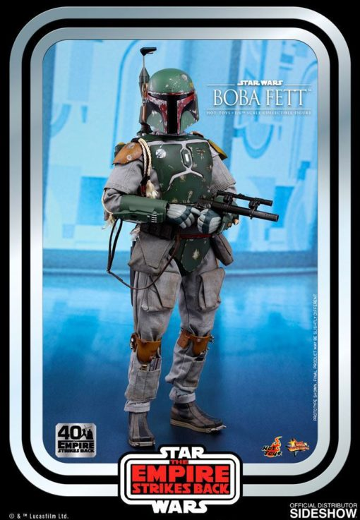 Star Wars Episode V Movie Masterpiece Action Figure 1/6 Boba Fett 30 cm