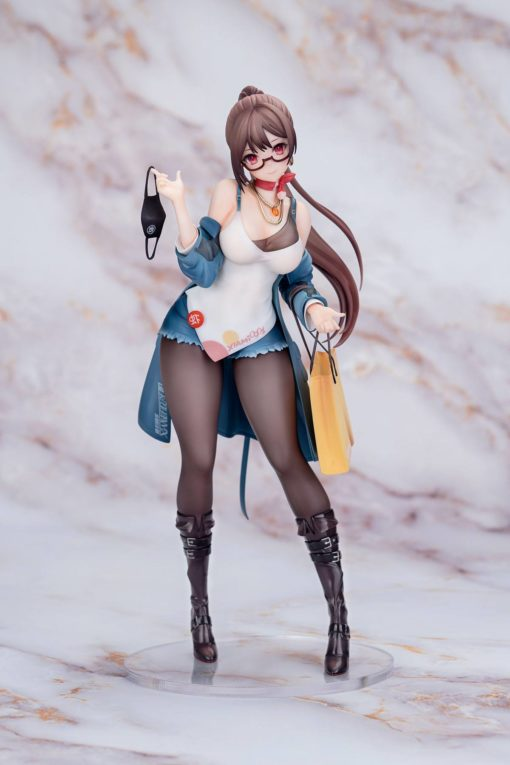 Original Character PVC Statue 1/7 Xiami 4th Anniversary At First Sight Blue Ver. 25 cm