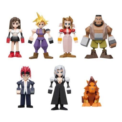 Final Fantasy VII Polygon Figures 4 – 6 cm Assortment (8)