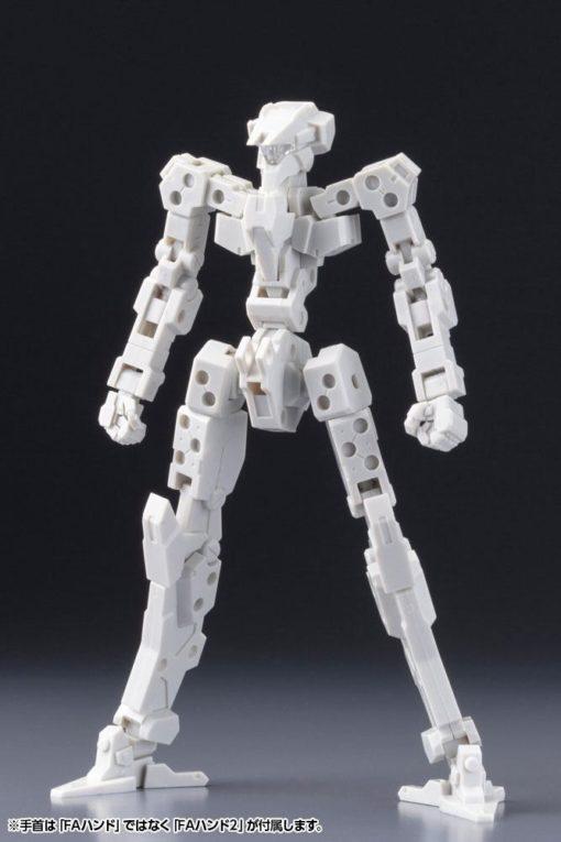 Frame Arms Plastic Model Kit 1/100 Frame Architect Type 001 Off White 14 cm