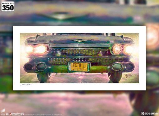 Ghostbusters Art Print Ecto-1 46 x 61 cm – unframed