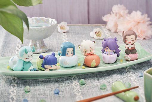 The Legend of Hei Mini Figures 6-Pack Wagashi 5 – 7 cm