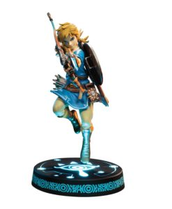 The Legend of Zelda Breath of the Wild PVC Statue Link Collector's Edition 25 cm