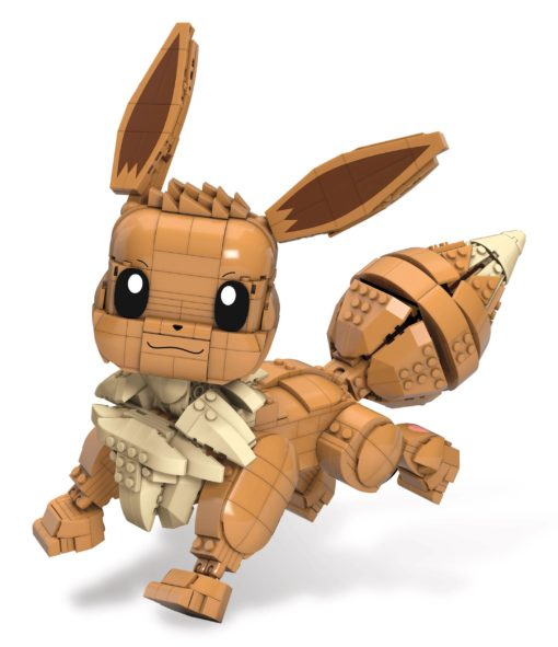 Pokémon Mega Construx Wonder Builders Construction Set Jumbo Eevee 29 cm