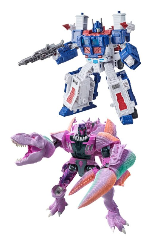 Transformers Generations War for Cybertron: Kingdom Action Figures Leader 2021 W2 Assortment (2)