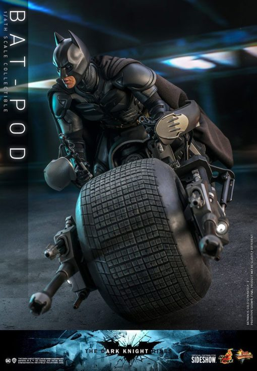 Batman The Dark Knight Rises Movie Masterpiece Action Figure 1/6 Bat-Pod 59 cm