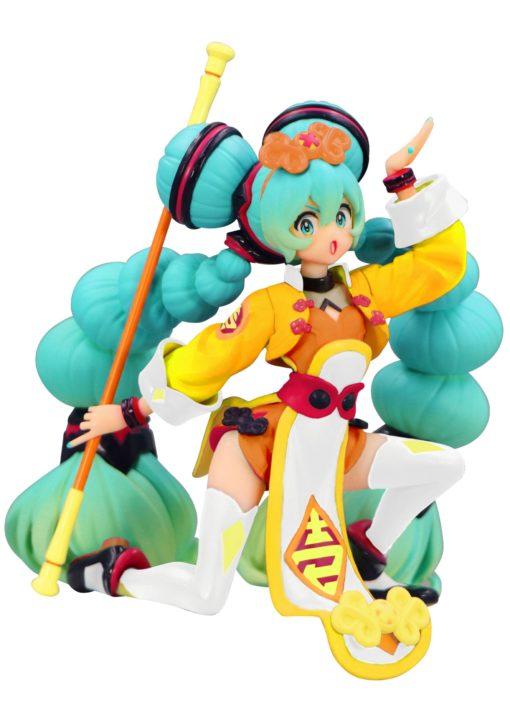 Vocaloid Noodle Stopper PVC Statue Hatsune Miku China Dress Color Variation 10 cm