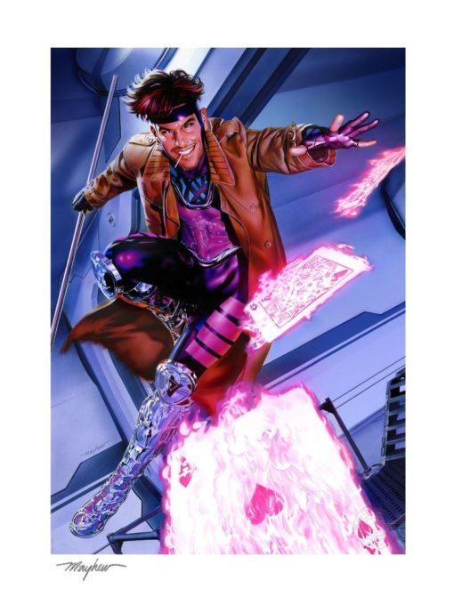 Marvel Art Print Gambit 46 x 61 cm – unframed