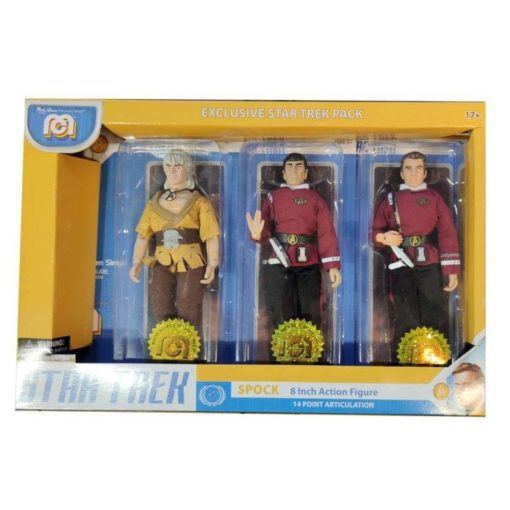 Star Trek Action Figures 3-Pack Spock, Kirk & Khan 20 cm