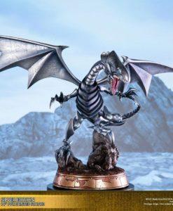 Yu-Gi-Oh! PVC Statue Blue-Eyes White Dragon Silver Edition 35 cm