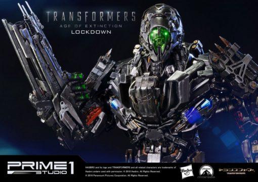 Transformers Age of Extinction Statue Lockdown EX Version 63 cm