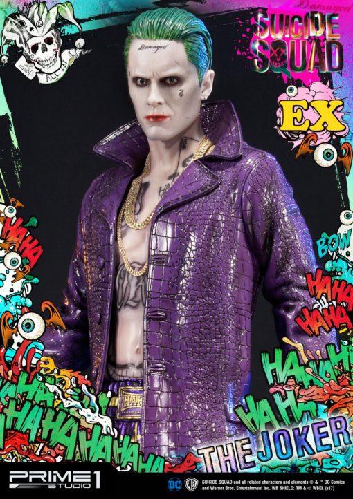 Suicide Squad Statue 1/3 The Joker Exclusive 74 cm
