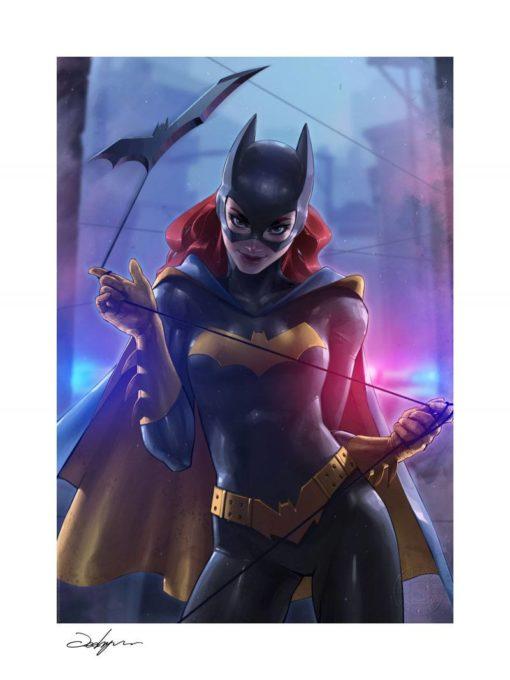 DC Comics Art Print Batgirl 46 x 61 cm – unframed