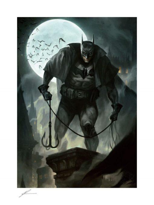 DC Comics Art Print Batman: Gotham by Gaslight 46 x 61 cm – unframed
