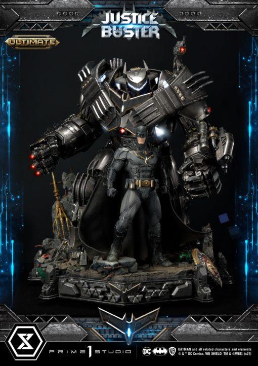 DC Comics Statue Justice Buster by Josh Nizzi Ultimate Version 88 cm