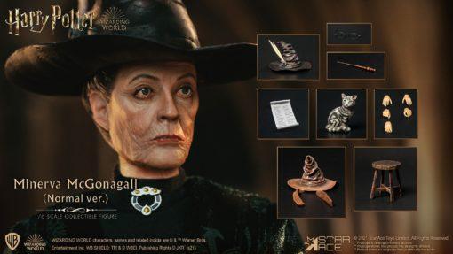 Harry Potter My Favourite Movie Action Figure 1/6 Minerva McGonagall Normal Ver. 29 cm