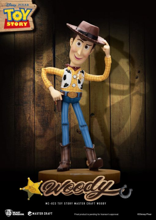 Toy Story Master Craft Statue Woody 46 cm