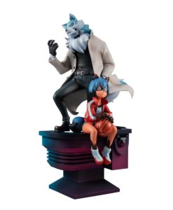 BNA: Brand New Animal PVC Statue Michiru Kagemori & Shirou Ogami 25 cm
