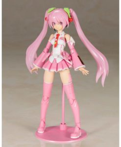 Hatsune Miku Frame Music Girl Plastic Model Kit Sakura Miku 15 cm