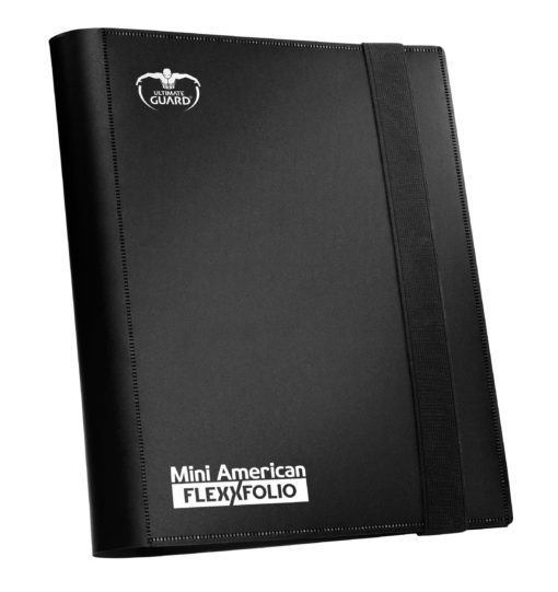 Ultimate Guard Flexxfolio 360 – 18-Pocket Mini American – Black