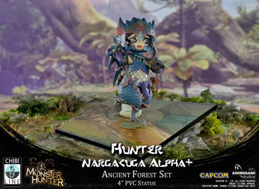 Monster Hunter – Hunter: Nargacuga Alpha+ (Exclusive Edition)