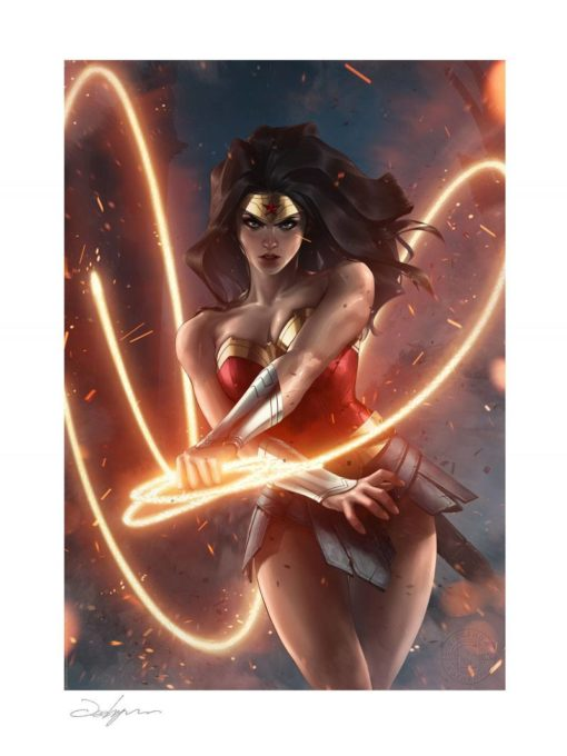 DC Comics Art Print Wonder Woman 46 x 61 cm – unframed