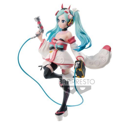 Racing Miku Espresto PVC Statue est-Dress & Pattern Hatsune Miku 2020 Kimono Ver. 18 cm