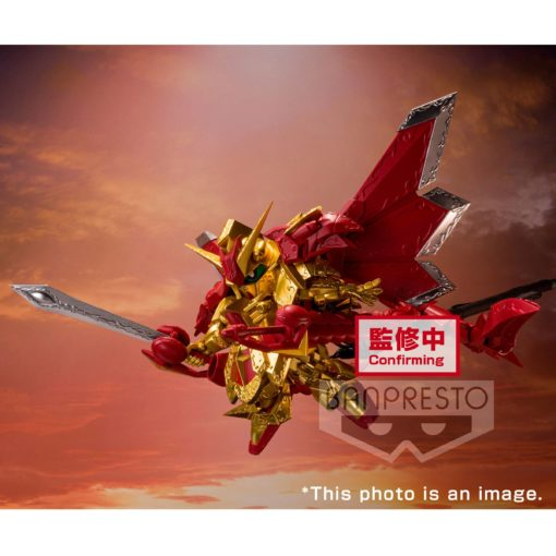SD Gundam PVC Statue Superior Dragon Knight of Light 9 cm