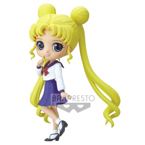 Sailor Moon Eternal The Movie Q Posket Mini Figure Usagi Tsukino Ver. B 14 cm